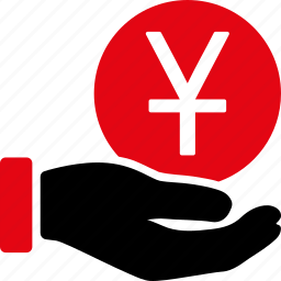business, cash, finance, money, payment, yen, yuan icon