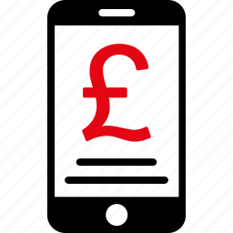 british, currency, finance, iphone, money, payment, pound sterling icon