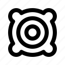 components, pc, speakers icon