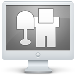 digg, monitor, screen icon