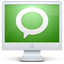monitor, screen, technorati icon