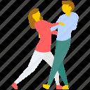 couple dance, dance, dance competition, dance festival, dance performance icon