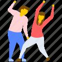 dance festival, dance performance, dancing couple, disco dance, tap dance icon