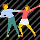 ballroom dance, dance festival, dance performance, professional dancers, tap dance icon