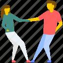 dance, dance festival, dance performance, dancing couple, tap dance icon
