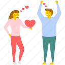 love moments, love theme, lovers, passion, valentine day icon