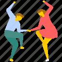 dance, dance festival, dance performance, dancing couple, partner dance icon