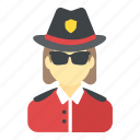 constable, cop, police officer, police woman, sergeant icon