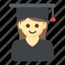 degree holder, graduate, postgraduate, scholar, student