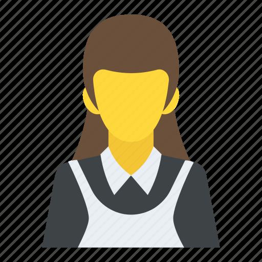 female, girl, lady, schoolgirl, woman icon