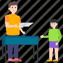avatar, classroom, pupil, schoolchild, student icon