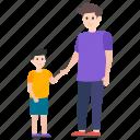 dad love, dad son, father kid, father son, fatherhood icon