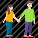 dating, matrimonial, relationship, romantic couple, spouse icon