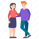 couple, dating, matrimonial, relationship, spouse icon