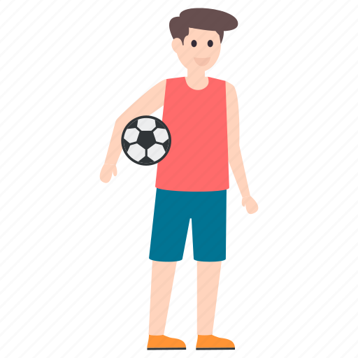 football player, outdoor game, player, soccer player, sportsman icon
