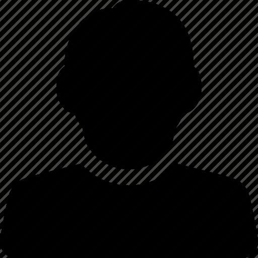 account, avatar, casual, male, man, profile, user icon