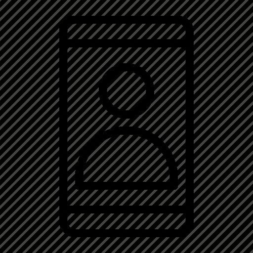 people, phone, smartphone icon
