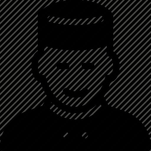 bellboy, hotel, people, restaurant, service icon
