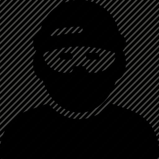 crime, criminal, man, people, person icon