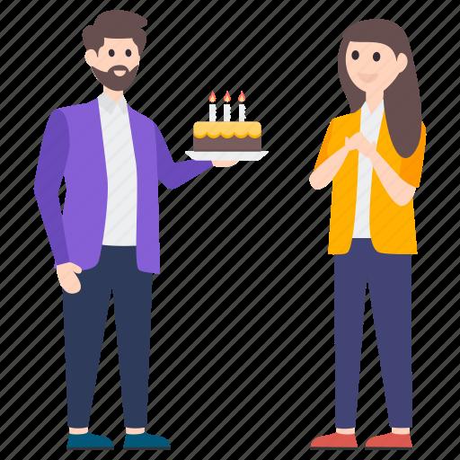 birthday cake, birthday celebration, birthday party, birthday surprise, happy birthday icon