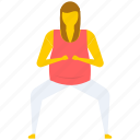 chair yoga pose, yoga, yoga butt, yoga exercise, yoga pose icon