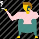 smoking, smoking man, bathroom smoker, cigarette smoking
