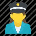 airwoman, female pilot, pilot, stewardess, woman aviator icon
