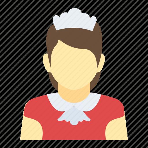 air hostess, cabin crew, flight attendant, hostess, stewardess icon