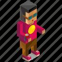 avatar, man, nerd, people, person, user icon