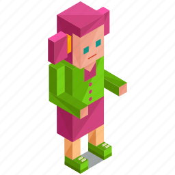 avatar, girl, people, person, pink, user icon
