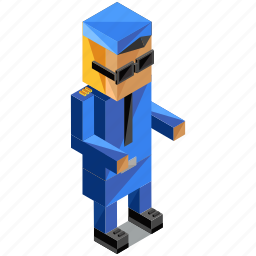 avatar, man, people, person, police, profession, user icon