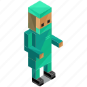 avatar, man, people, person, profession, surgeon icon