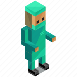 avatar, man, people, person, profession, surgeon icon