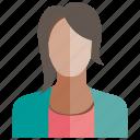 avatar, face, people, profile, user, woman