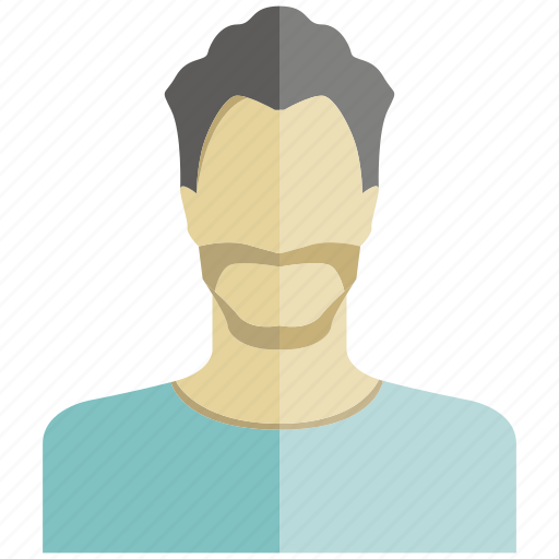 avatar, beard, face, man, people, profile, user icon