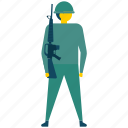 army, militant, military, soldier, warrior