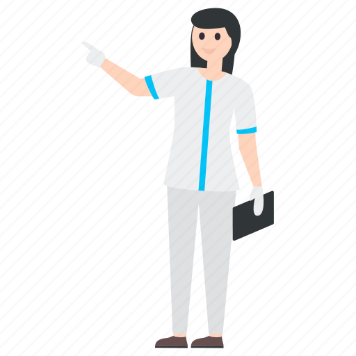 doctor, health professional, lady doctor, medical doctor, medical specialist, physician icon