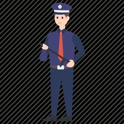 officer, patrolman, police, police officer, policeman icon