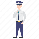 cop, officer, patrolman, police, police officer, policeman icon