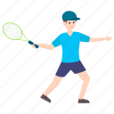 outdoor game, player, sportsperson, sportswoman, tennis player icon