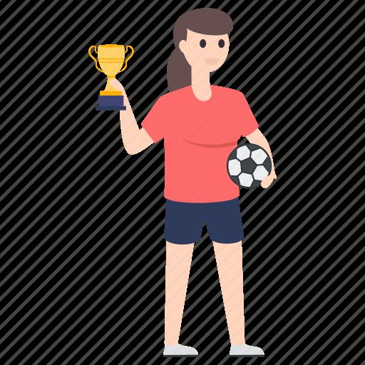 achievement, award, champion, football match winner, triumph, trophy icon
