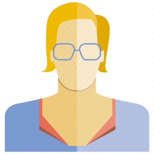 avatar, face, office, people, profile, user, woman icon