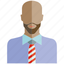 avatar, beard, face, people, profile, user icon