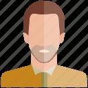 avatar, beard, face, man, people, profile, user