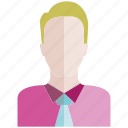 avatar, face, man, office, people, profile, user icon