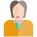 avatar, face, people, profile, user, woman icon