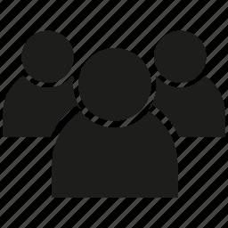 friend, leader, people, team icon