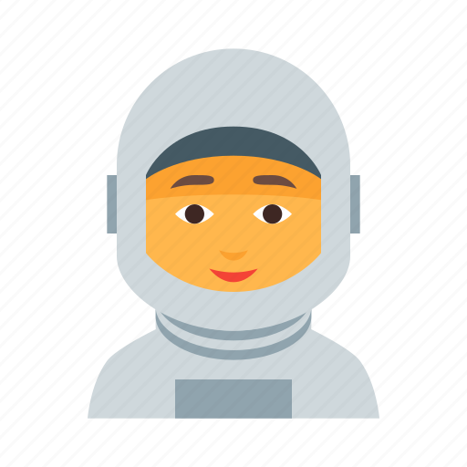 astronaut, cosmos, female, space, spaceman, universe, woman icon