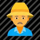 farmer, male icon