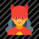 female, superhero, character, hero, personage, woman, wonder